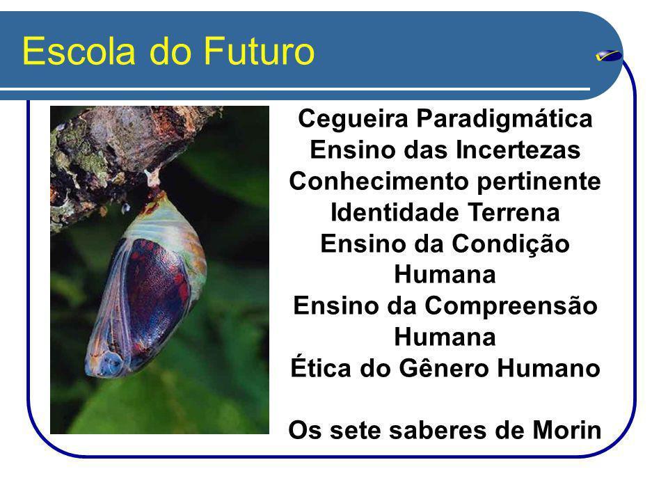 Escola do Futuro Cegueira Paradigmática Ensino das Incertezas