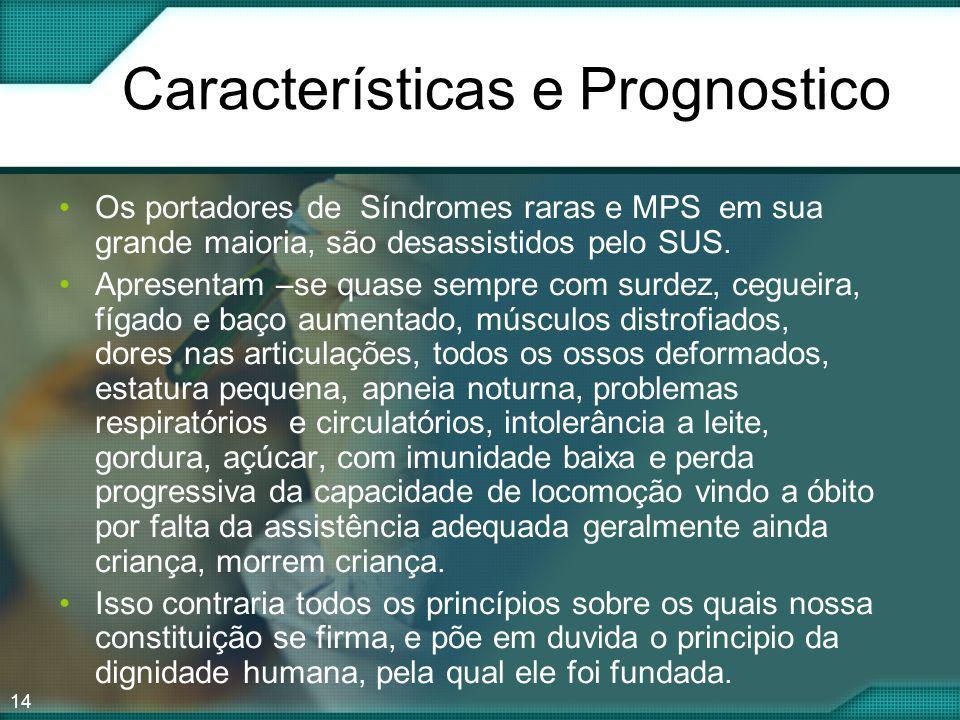 Características e Prognostico