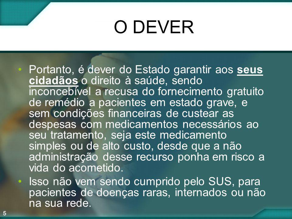 O DEVER