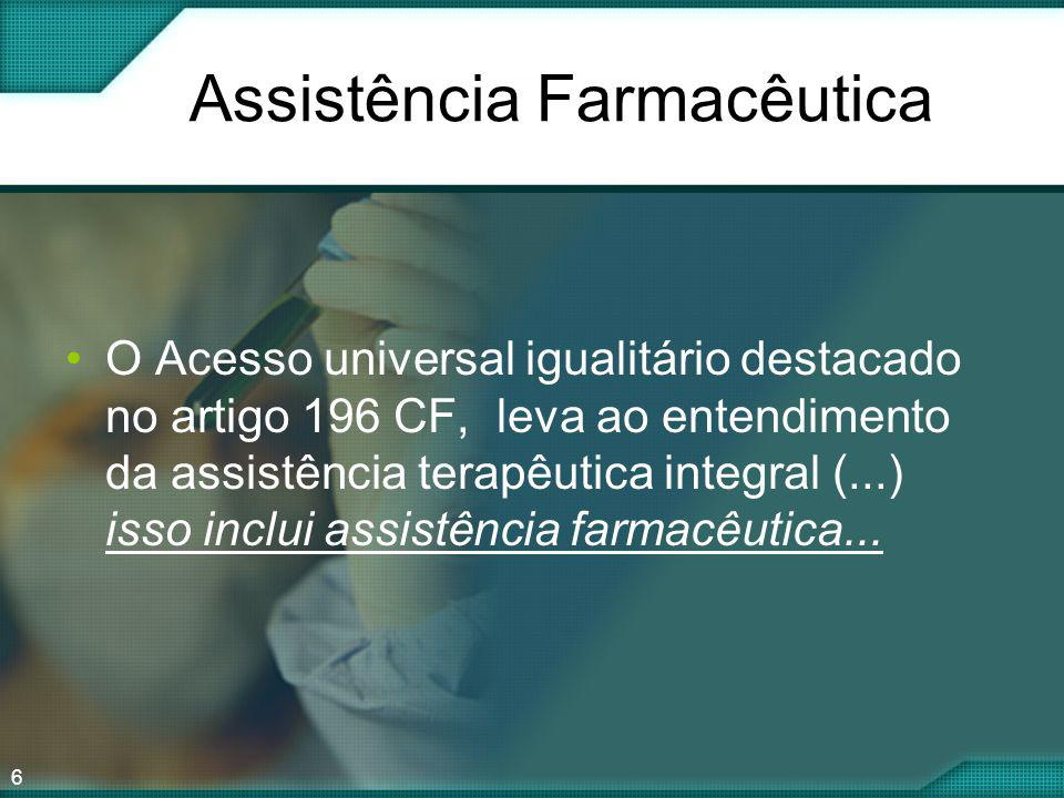 Assistência Farmacêutica