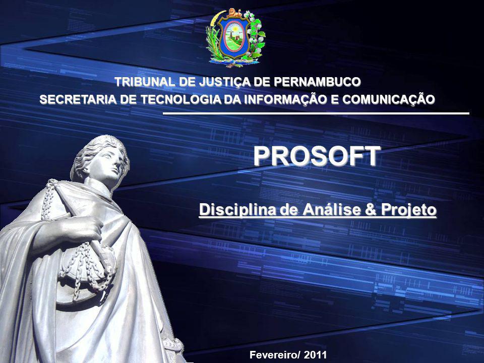 Disciplina de Análise & Projeto