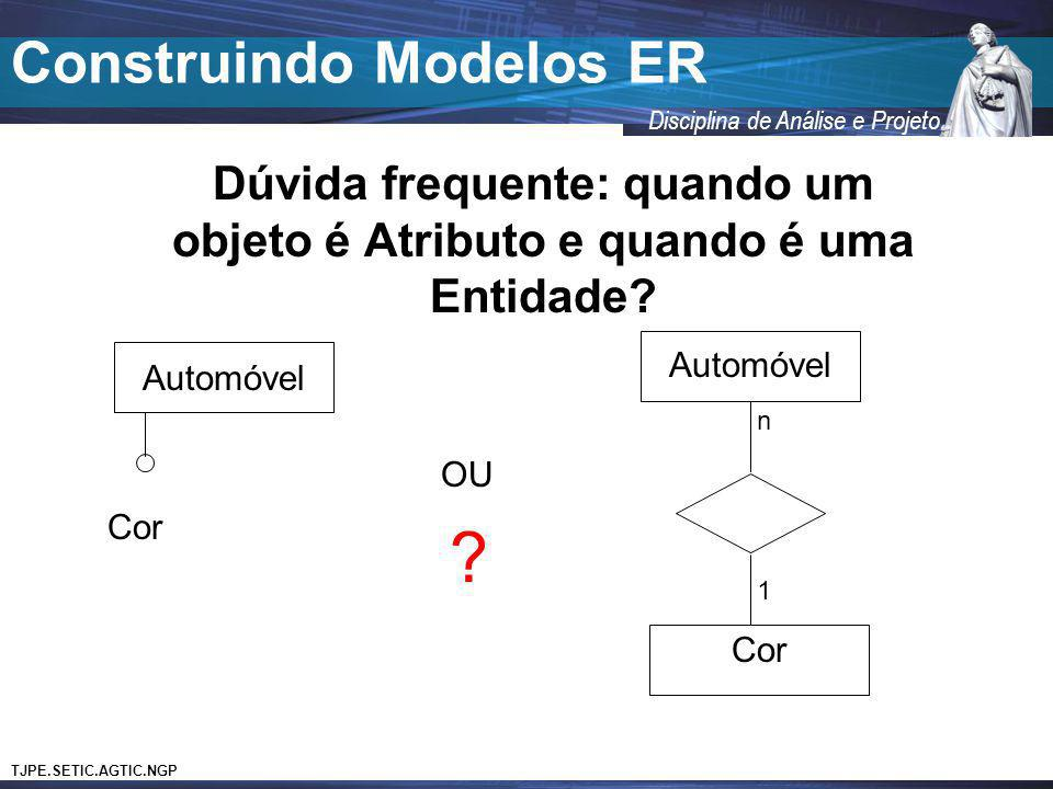 Construindo Modelos ER