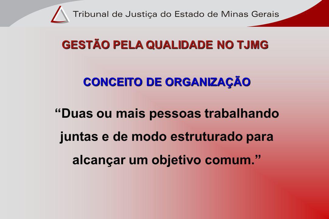 GESTÃO PELA QUALIDADE NO TJMG
