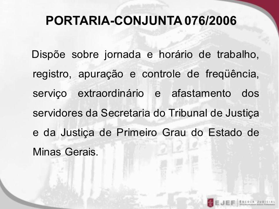 PORTARIA-CONJUNTA 076/2006