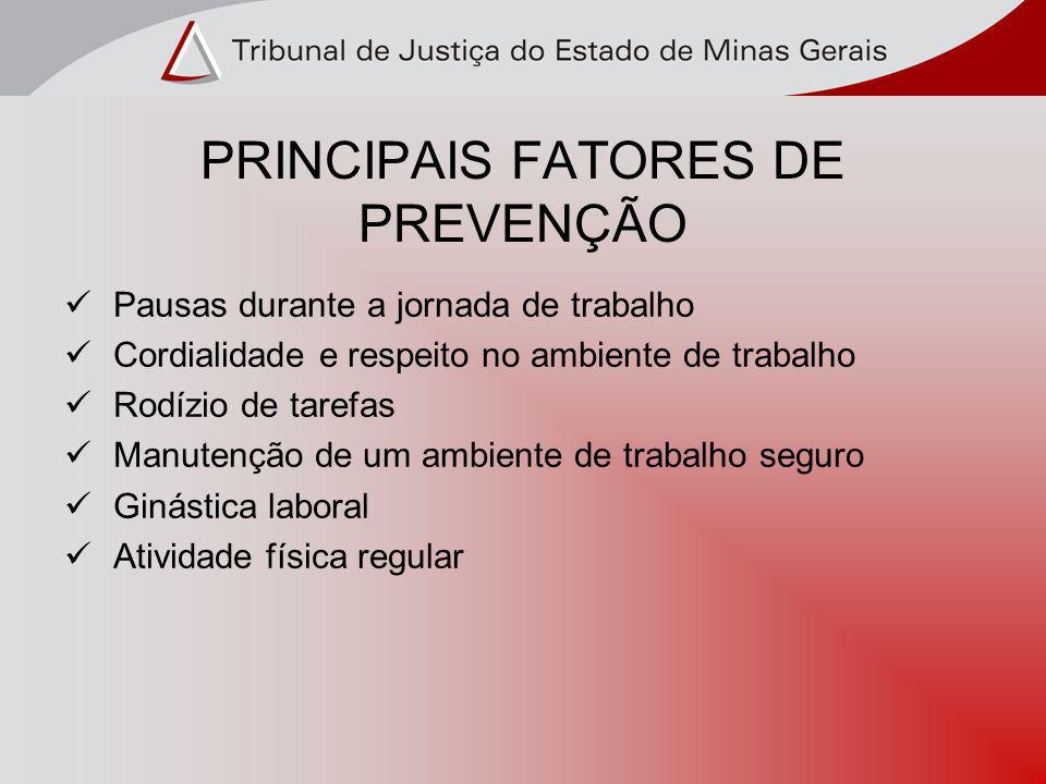 PRINCIPAIS FATORES DE PREVENÇÃO