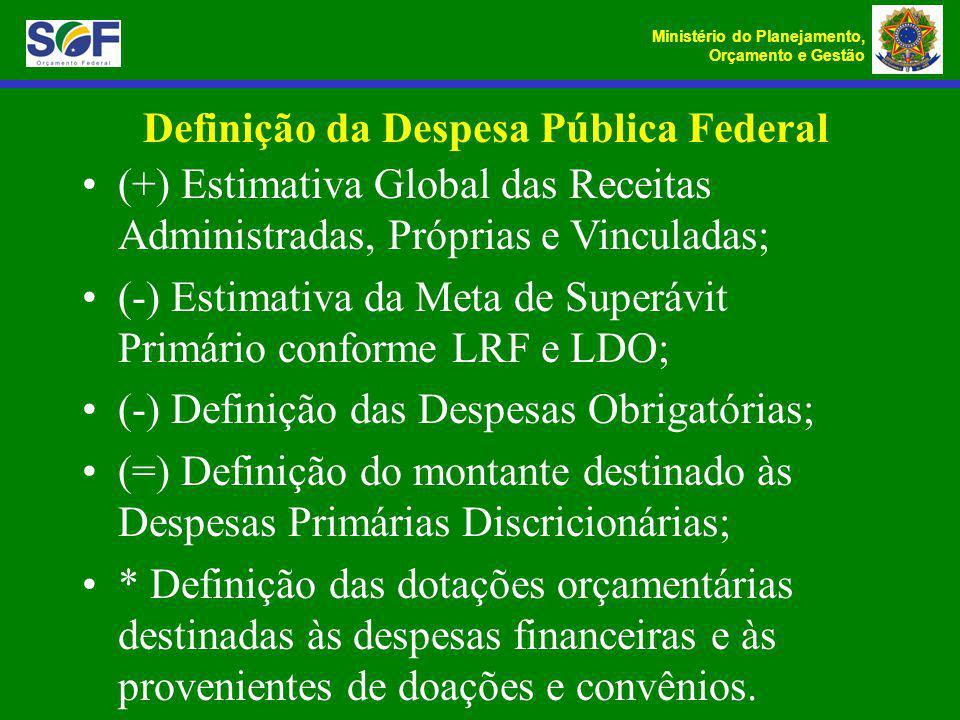 Definição da Despesa Pública Federal