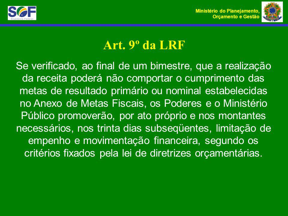 Art. 9º da LRF