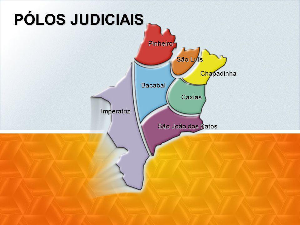 PÓLOS JUDICIAIS Pinheiro São Luís Chapadinha Bacabal Caxias Imperatriz