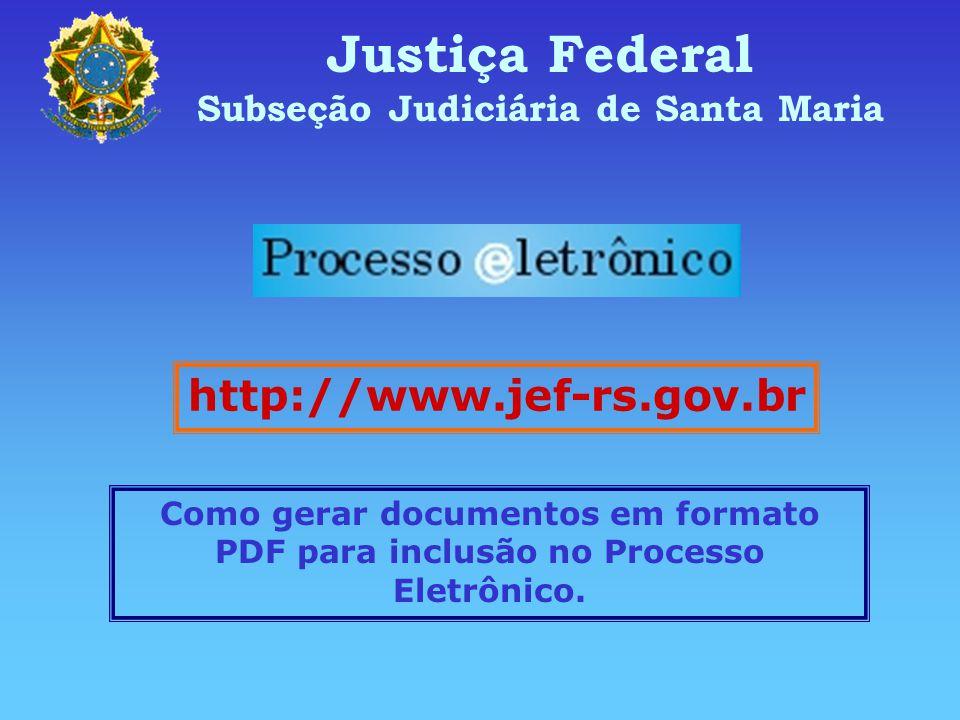 Subseção Judiciária de Santa Maria