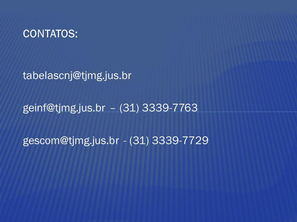 gescom@tjmg.jus.br - (31) 3339-7729