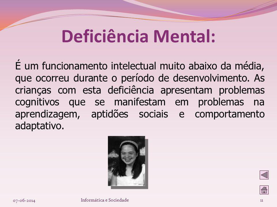 Deficiência Mental: