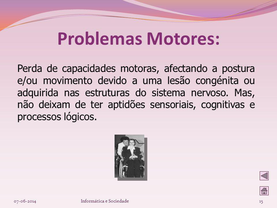 Problemas Motores: