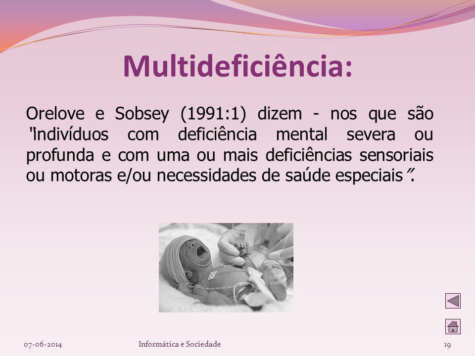 Multideficiência: