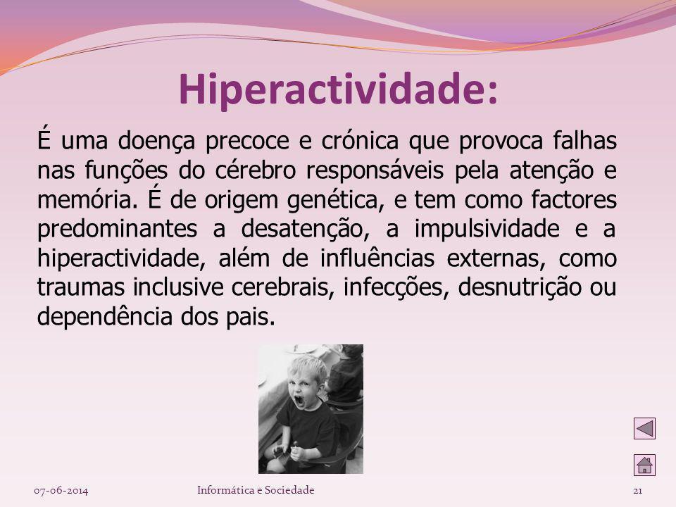 Hiperactividade: