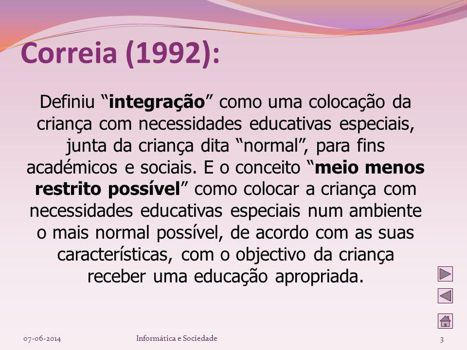 Correia (1992):