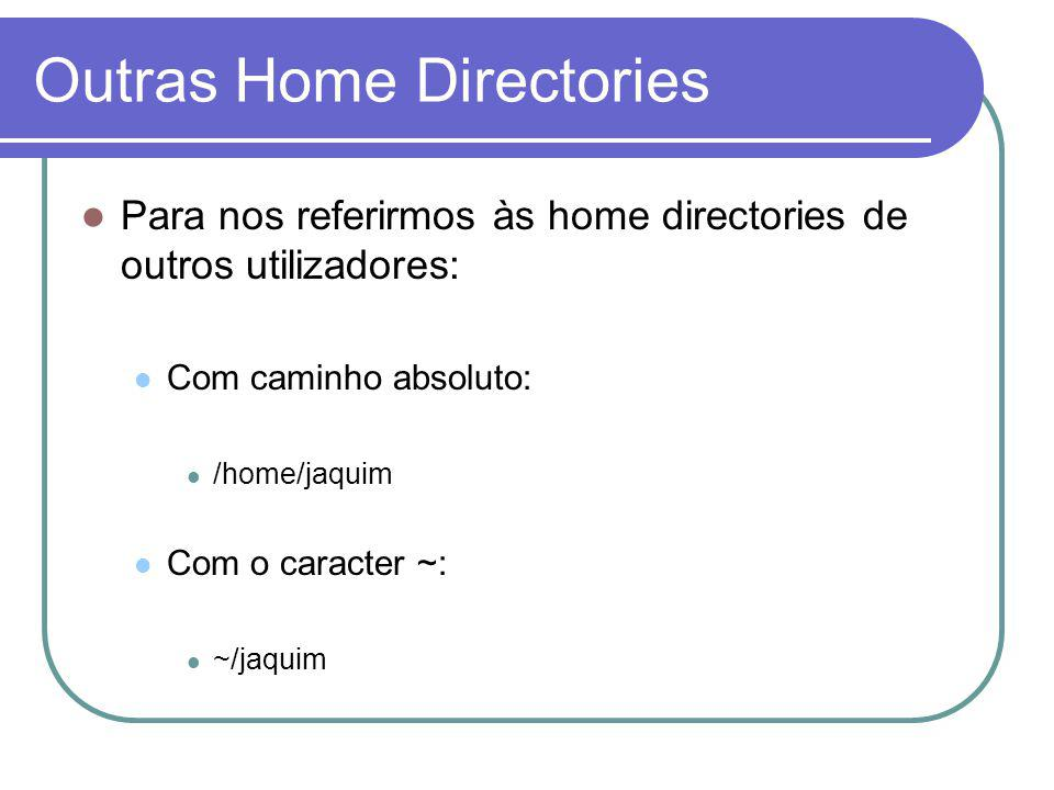 Outras Home Directories