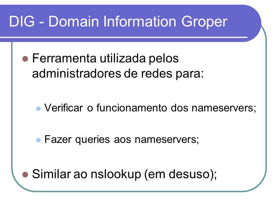 DIG - Domain Information Groper