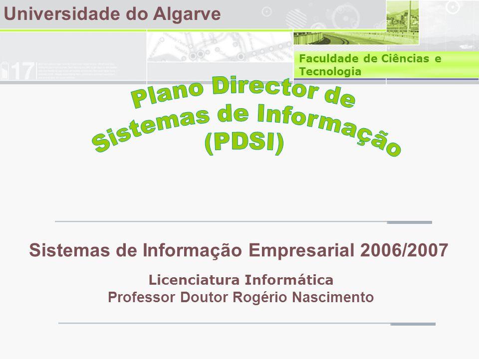 Plano Director de Sistemas de Informação (PDSI)