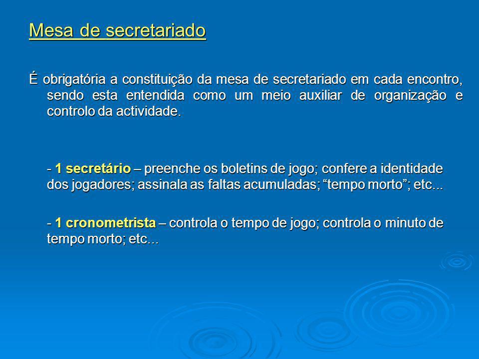 Mesa de secretariado