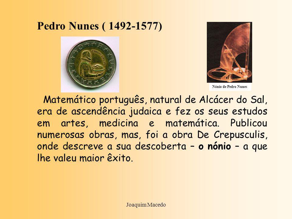 Pedro Nunes ( 1492-1577)