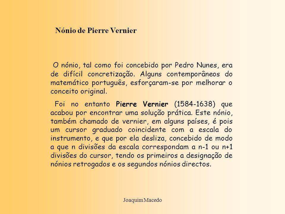 Nónio de Pierre Vernier