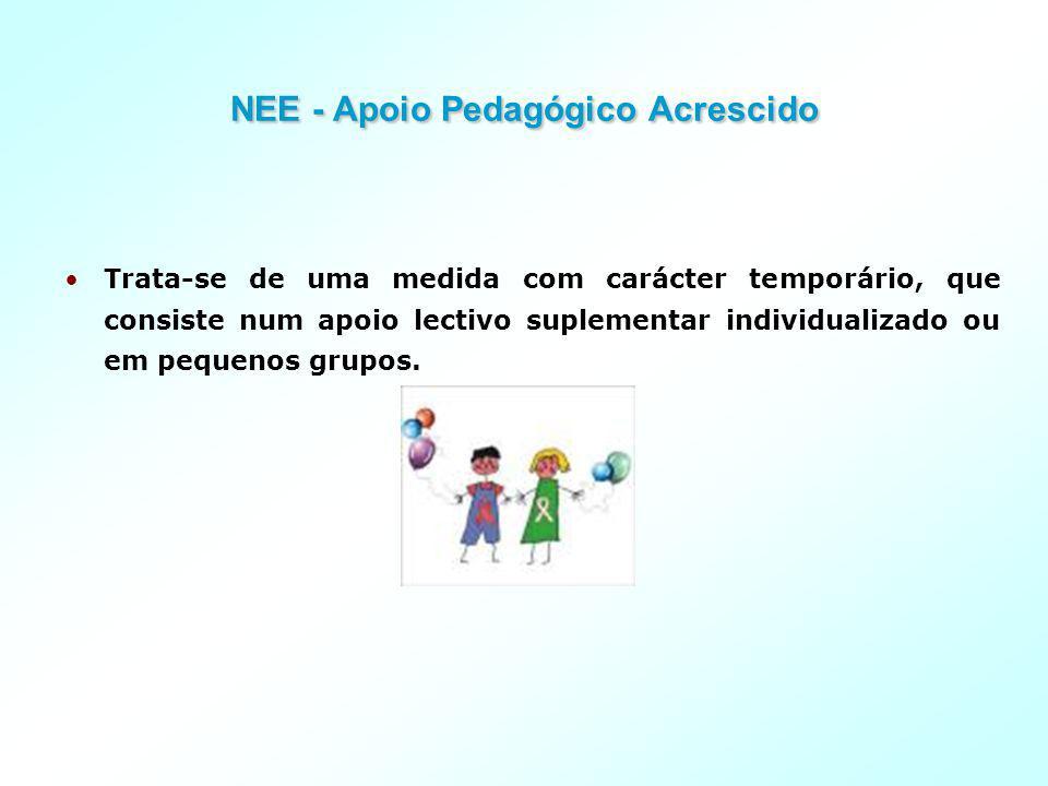 NEE - Apoio Pedagógico Acrescido