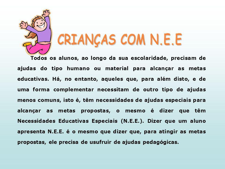 CRIANÇAS COM N.E.E