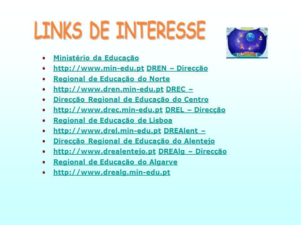 LINKS DE INTERESSE Ministério da Educação