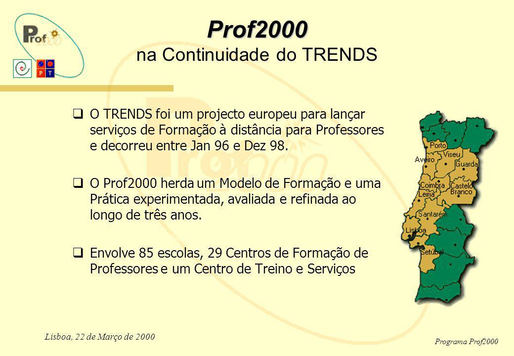Prof2000 na Continuidade do TRENDS
