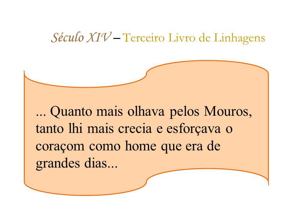 Século XIV – Terceiro Livro de Linhagens