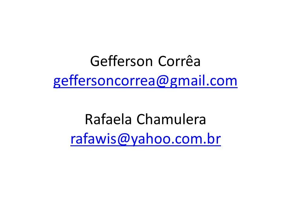 Gefferson Corrêa geffersoncorrea@gmail