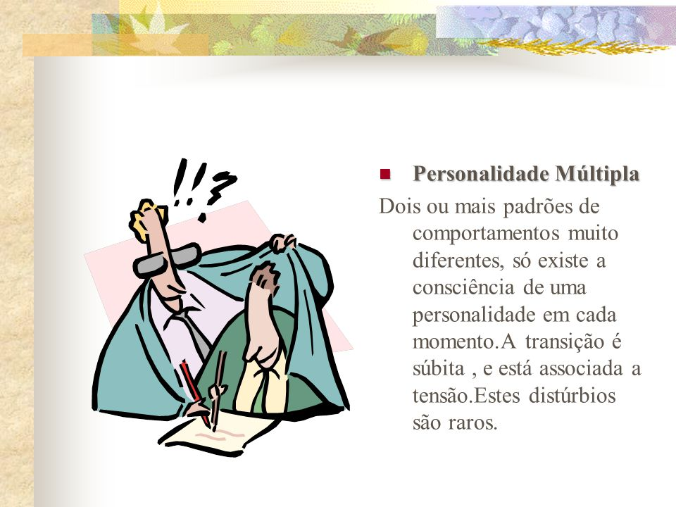 Personalidade Múltipla