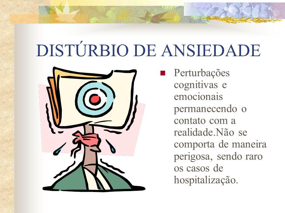 DISTÚRBIO DE ANSIEDADE