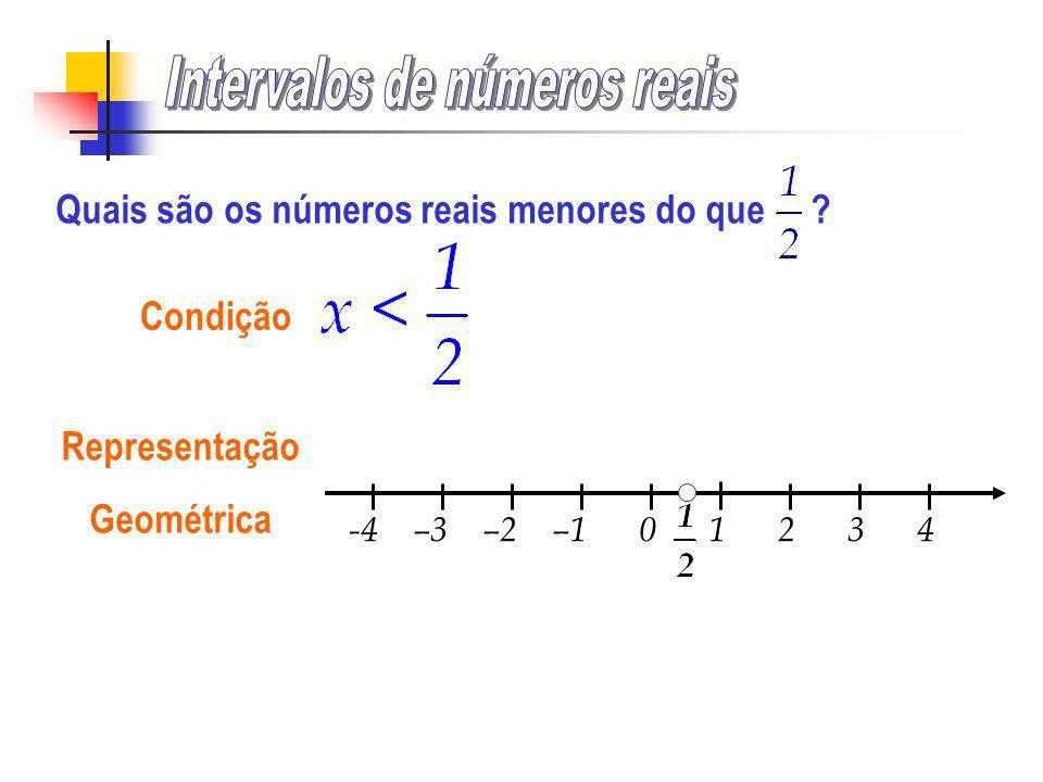 Intervalos de números reais