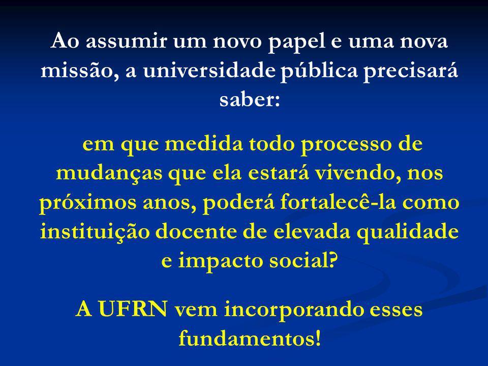 A UFRN vem incorporando esses fundamentos!
