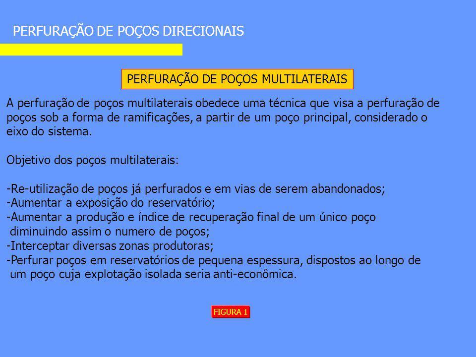PERFURAÇÃO DE POÇOS MULTILATERAIS
