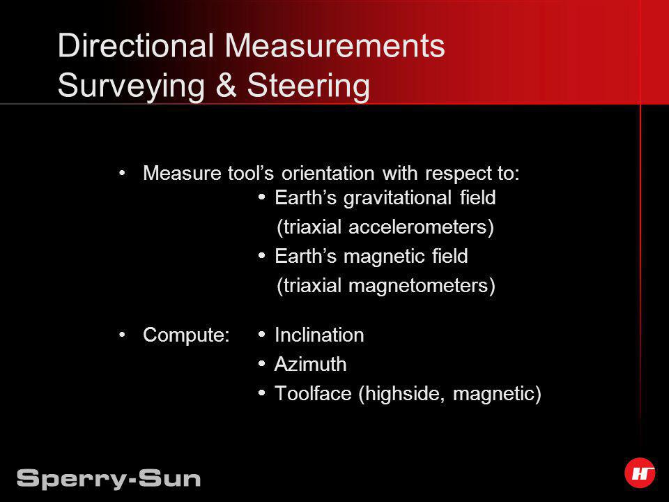 Directional Measurements Surveying & Steering