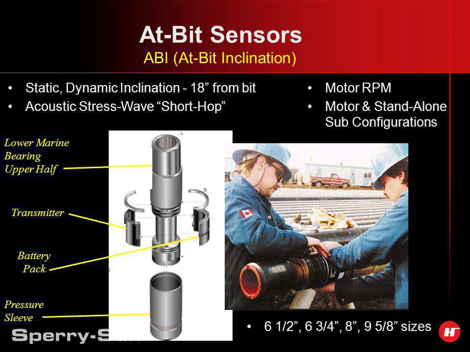 At-Bit Sensors ABI (At-Bit Inclination)