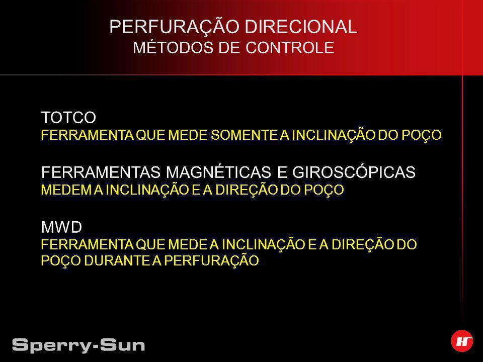 PERFURAÇÃO DIRECIONAL MÉTODOS DE CONTROLE