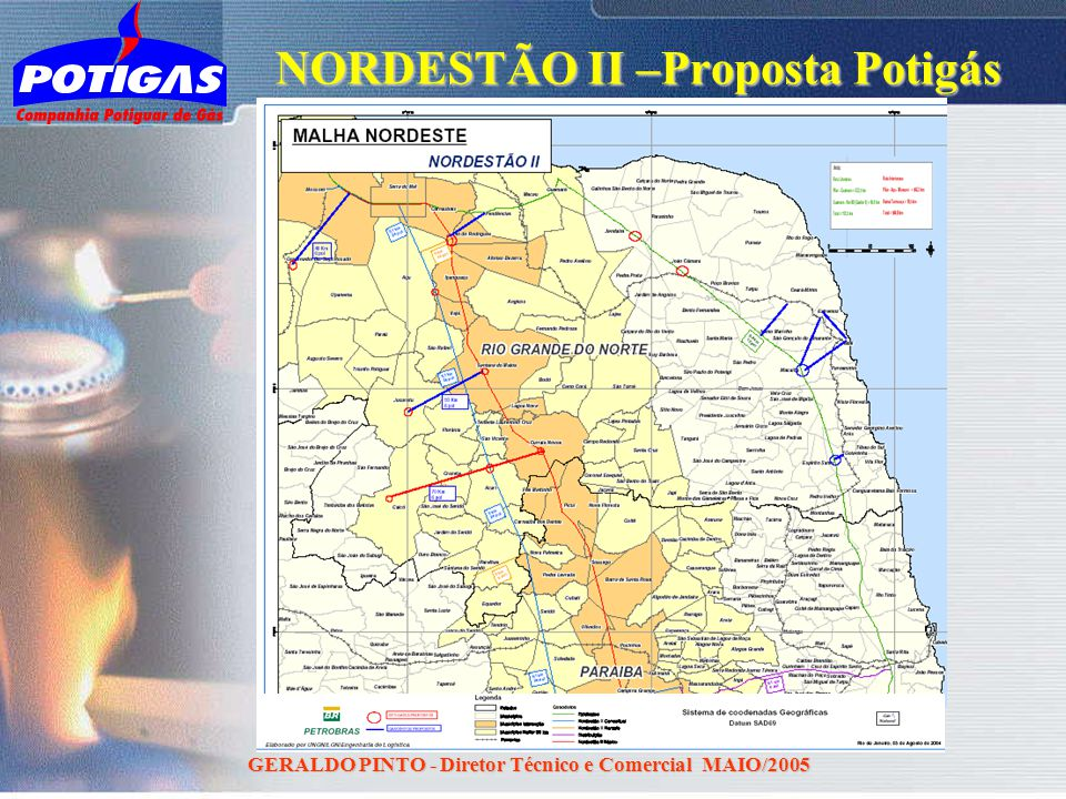 NORDESTÃO II –Proposta Potigás