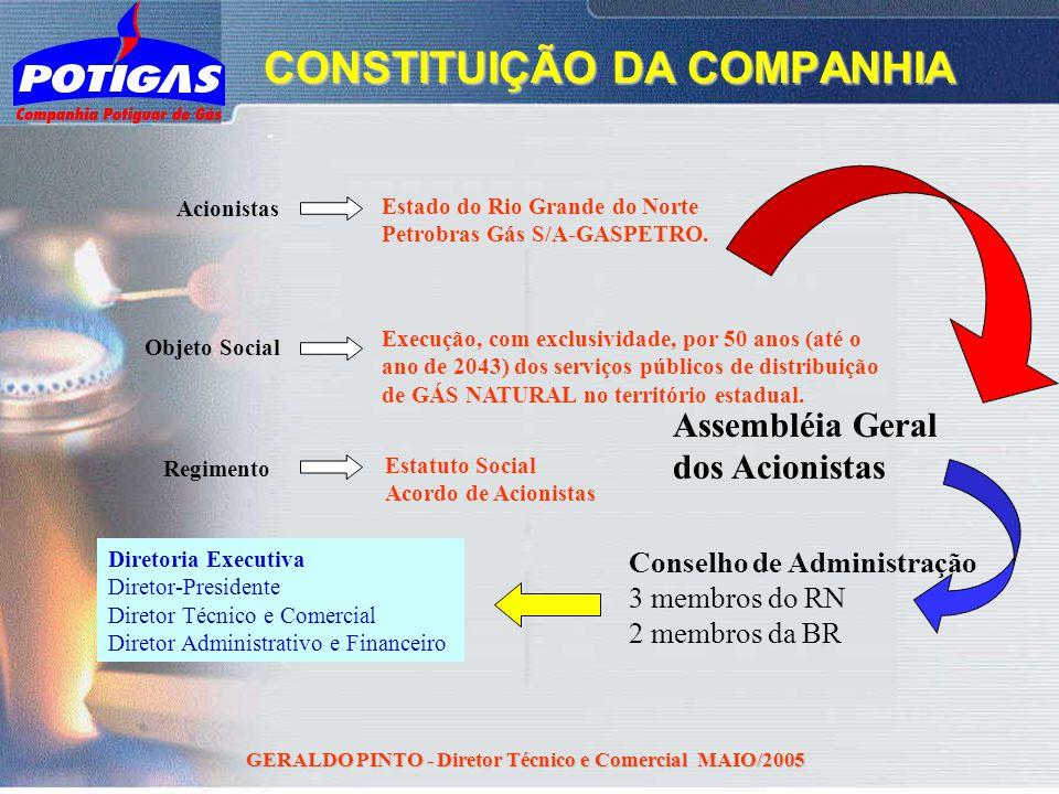 CONSTITUIÇÃO DA COMPANHIA