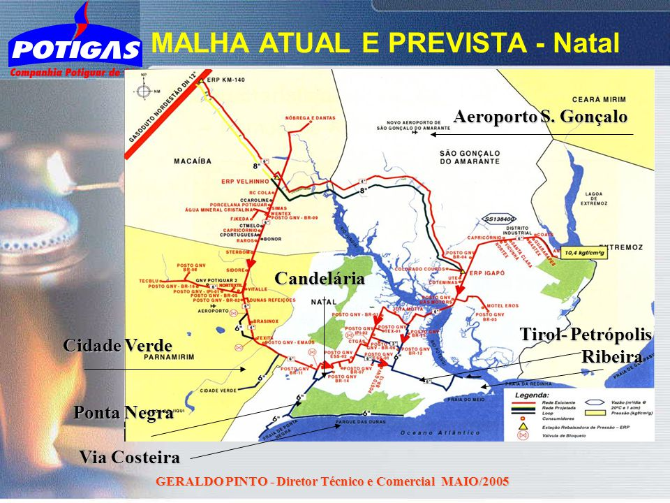 MALHA ATUAL E PREVISTA - Natal