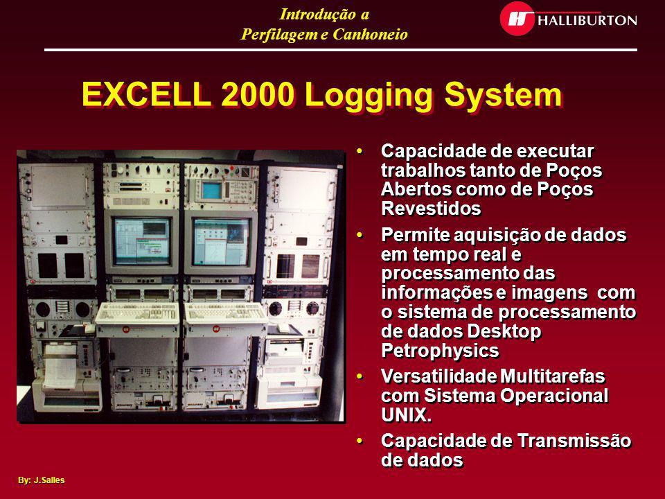 EXCELL 2000 Logging System Capacidade de executar trabalhos tanto de Poços Abertos como de Poços Revestidos.