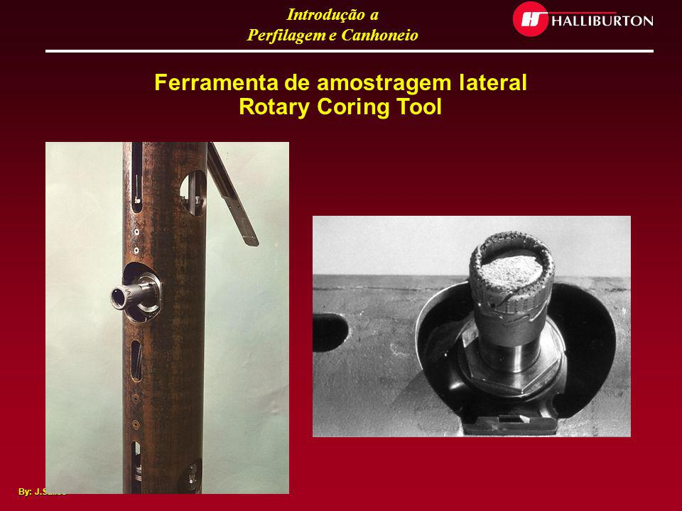 Ferramenta de amostragem lateral Rotary Coring Tool