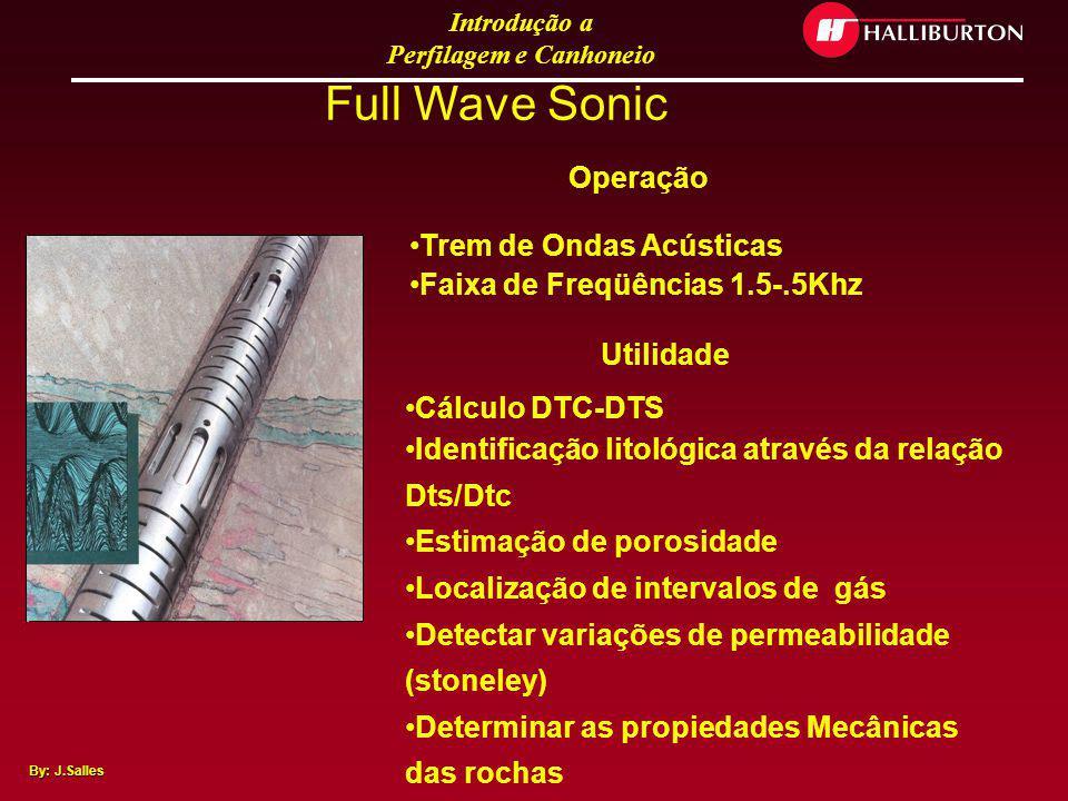 Full Wave Sonic Trem de Ondas Acústicas Faixa de Freqüências 1.5-.5Khz