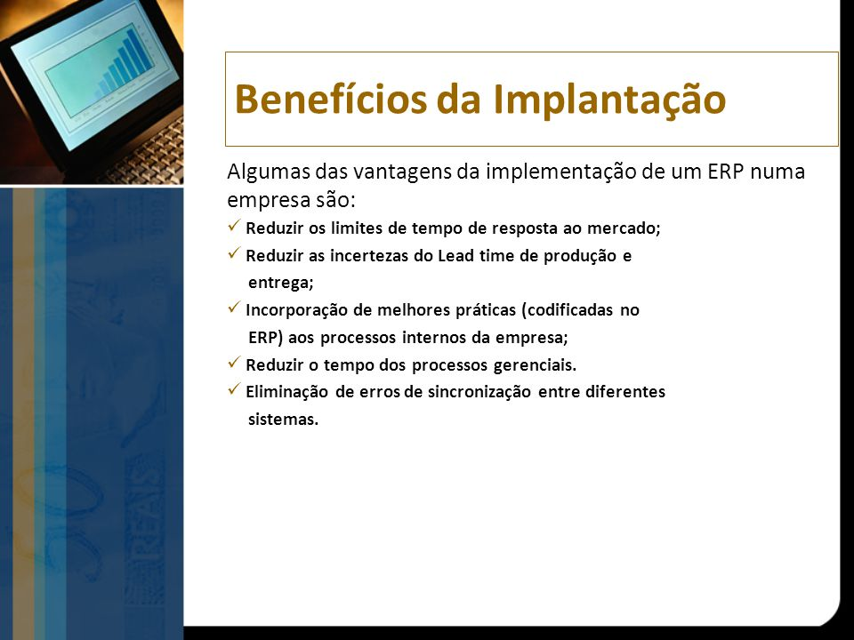 Benefícios da Implantação