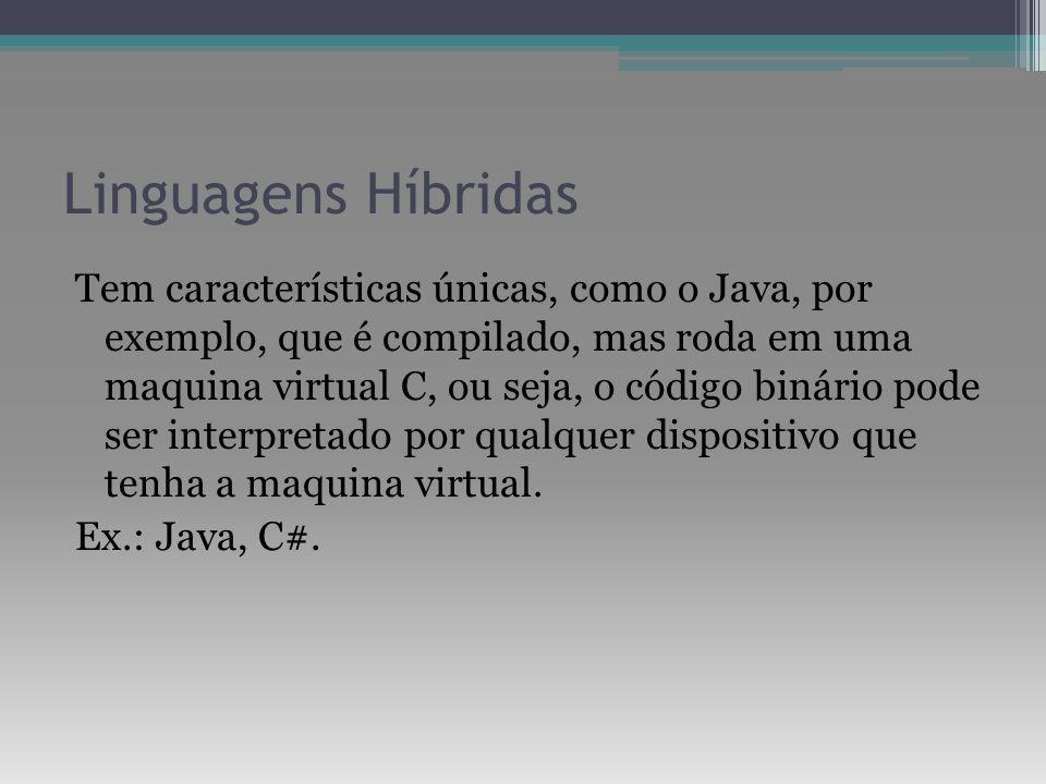 Linguagens Híbridas