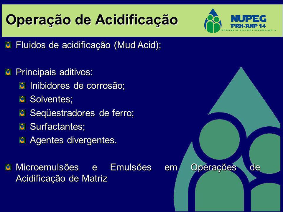 Operação de Acidificação
