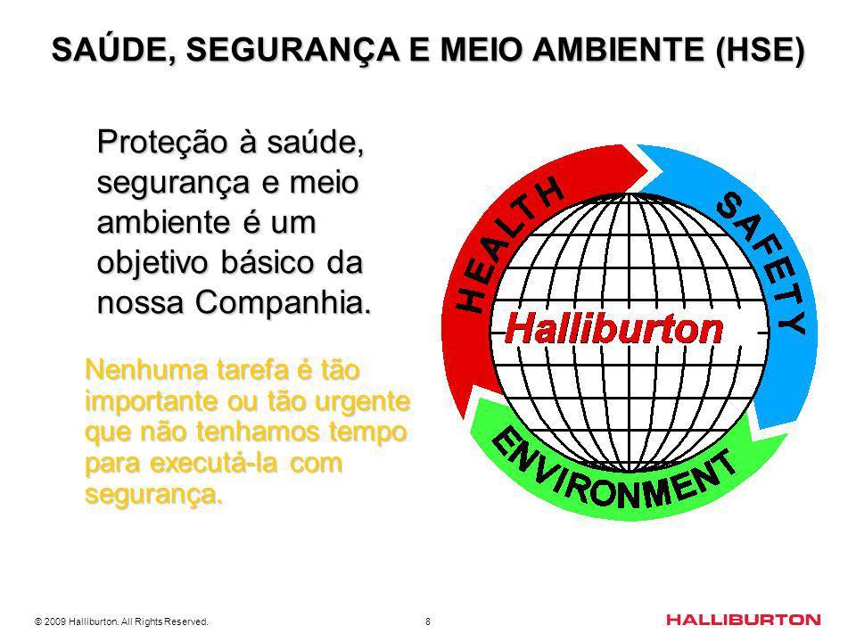 SAÚDE, SEGURANÇA E MEIO AMBIENTE (HSE)