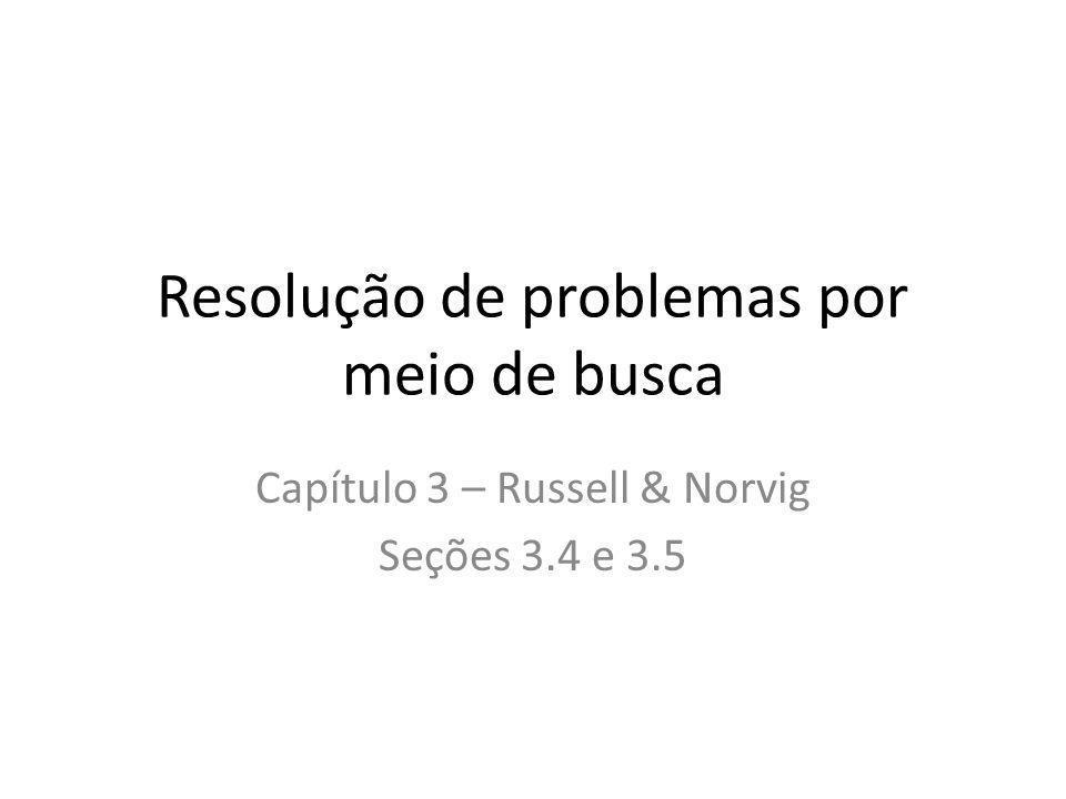 Resolução de problemas por meio de busca
